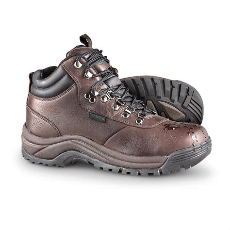 hiking boots s prop 233 t 174 cliff walker waterproof hiking boots brown