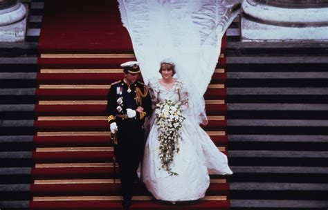 princess dianas wedding dress designer reveals  gown facts
