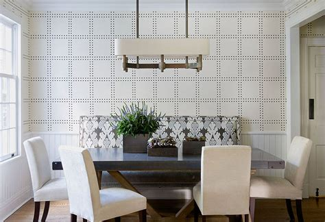 Upscale Dining Room Furniture 25 Amazing Dining Rooms With Wallpaper