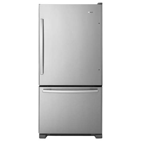 amana stainless side by side refrigerators