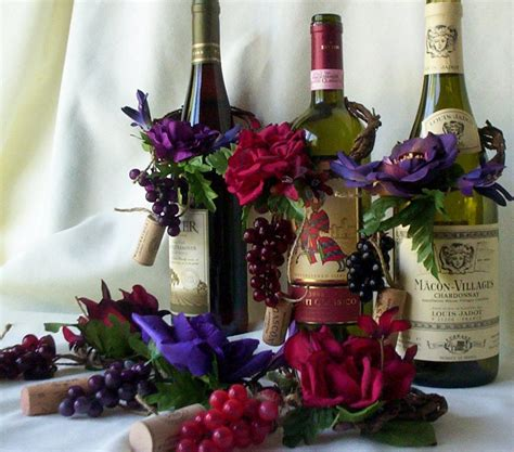 wedding centerpieces amorebride wine bottle toppers set 4