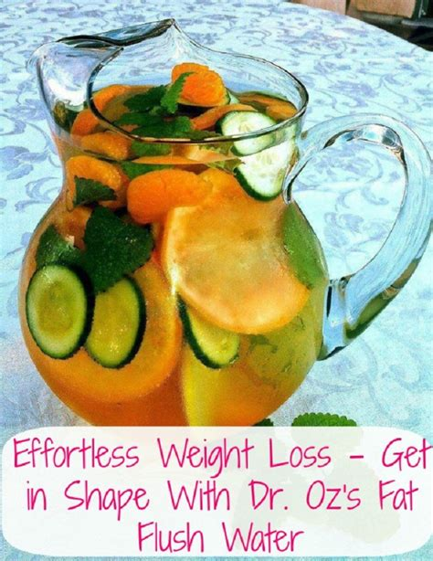 Dr Oz Fatty Liver Detox by The 4 Detox Water Recipes That Literally Flush From