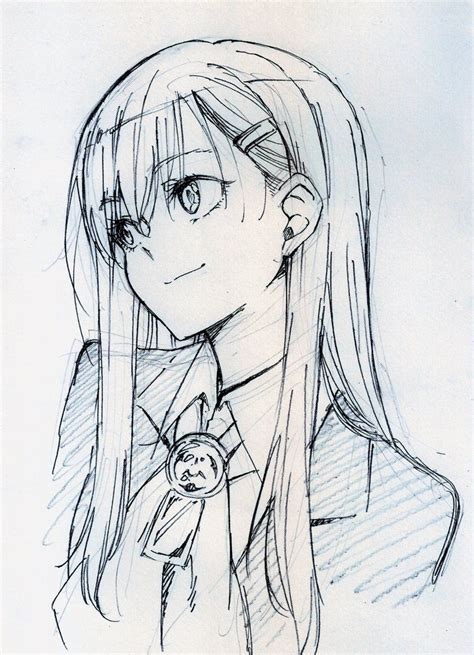 anime sketches media tweets by ギンブル silverblue0042 sketch
