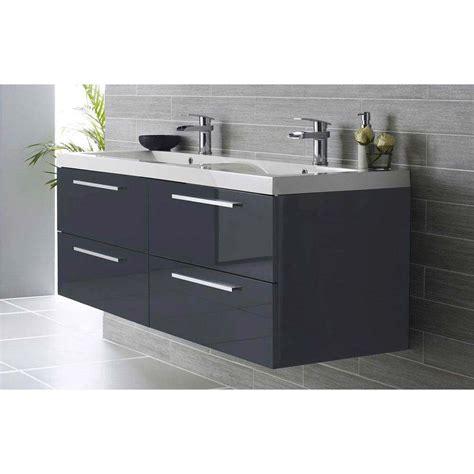 shop now hudson reed quartet double basin vanity unit