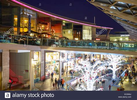 christmas shopping at the liverpool one retail development