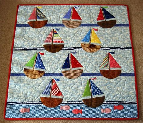 Sailing Quilt by Sailboat Quilt Quilts And Other Sewing Projects