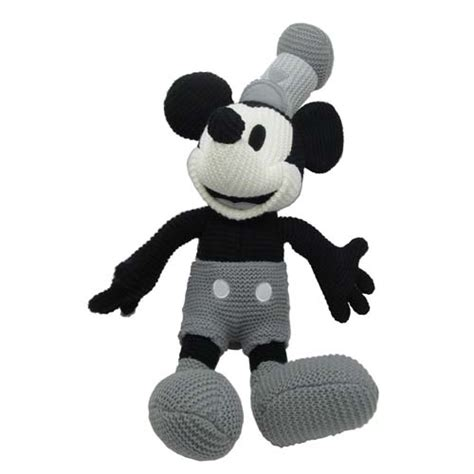 steamboat willie plush disney plush mickey mouse crochet knit steamboat willie