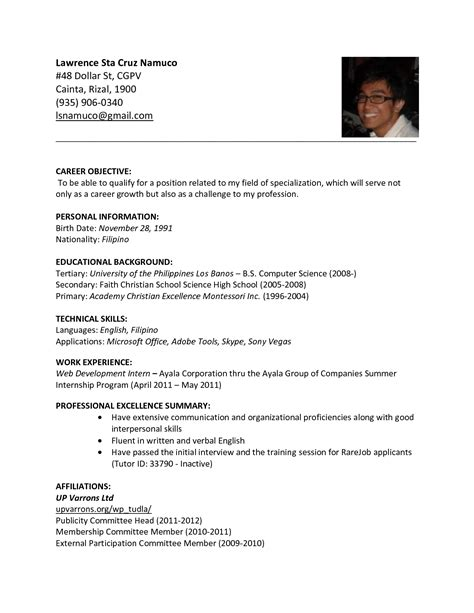 sle resume format for summer thesis template general types of research
