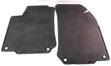 mk4 jetta rubber mats all season weather front rubber floor mats 99 05 vw jetta