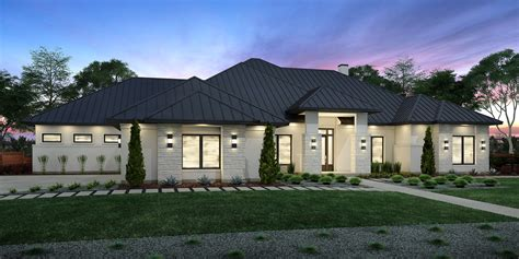 texas home designs floor plans for texas hill country texas hill country split bedroom plan hwbdo69040 ranch from