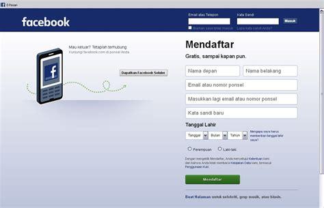 membuat facebook tanpa nomor hp tips and trik gadget cara cepat dan mudah daftar facebook