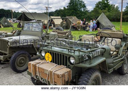 ww2 jeep front a war ii wwii tent c with jeep in front of the