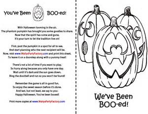 booed colouring pages