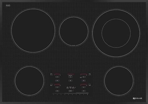 jenn air radiant cooktop jenn air 30 quot electric radiant cooktop stainless steel