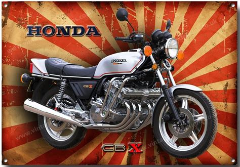 Honda Motorcycles Japan by Honda Cbx 1000 Motorcycle Metal Sign Classic Japanese