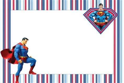superman free printable invitations is it for parties