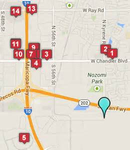 arizona casino map hotels near lone butte casino chandler az