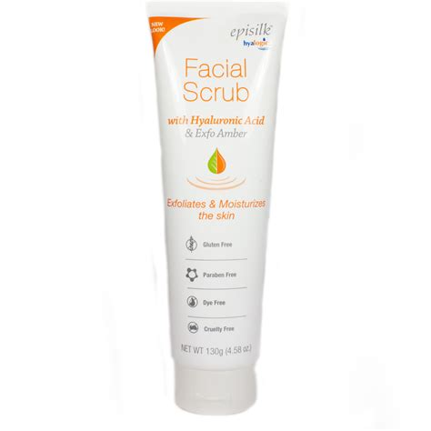 Scrub Prime Skin Scrub episilk scrub by hyalogic 4 58 ounces