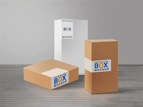 mockup design box 45 useful product packaging mockup psd templates