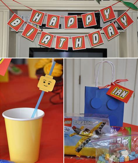Homemaking Fun A  Ee  Lego Ee   Themed  Ee  Birthday Ee    Ee  Party Ee