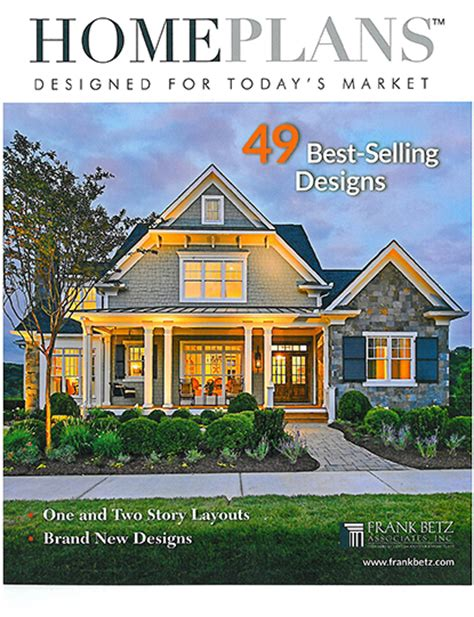 best selling house plans house plan books frank betz associates