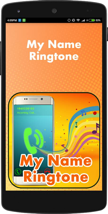 name ringtone download prokeralacom my name ringtone maker 1 5 apk download android
