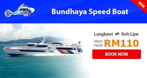 speed boat langkawi to koh lipe latest discount promotions bus and train tickets tour