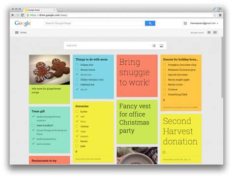 google keep design google keep updated new design better list management