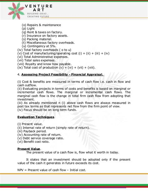 investment appraisal report template feasibility report project appraisal report summery template