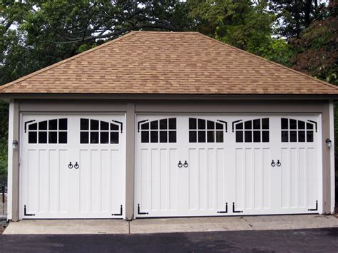 two door garage paint grade double and single garage doors aj garage