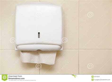 bathroom paper towel dispenser paper towel dispenser in the bathroom stock image image