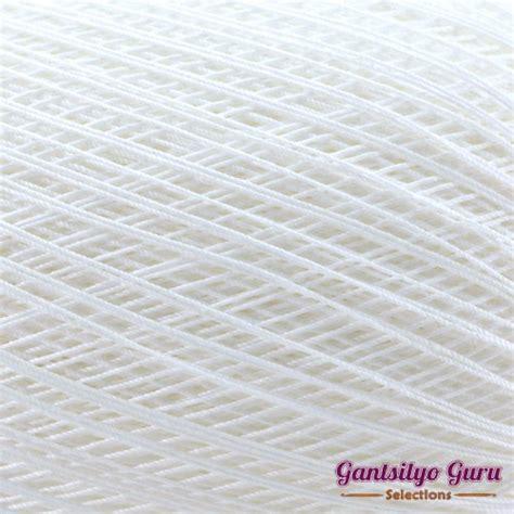 Lydias Jumbo White lydias classic crochet thread 10 jumbo white