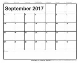 Calendar September 2017 Printable Pdf September 2017 Calendar Pdf Weekly Calendar Template