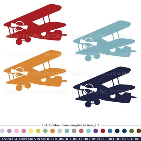 free printable airplane banner vintage airplane clip art customized with your choice of