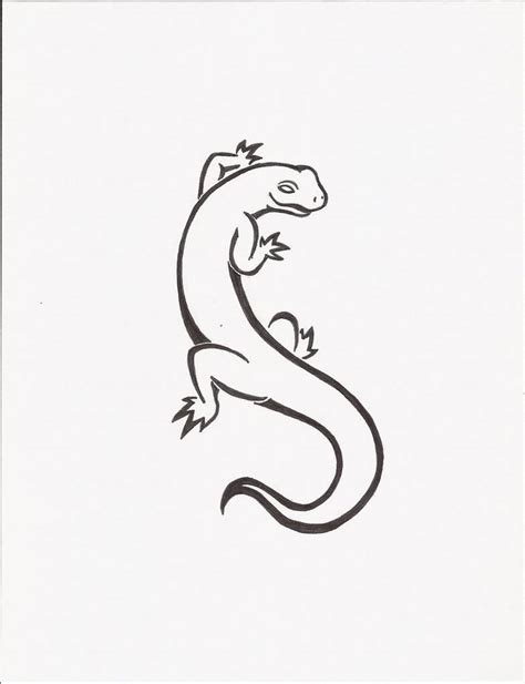 salamander tattoo designs 40 best salamander sketches golfian