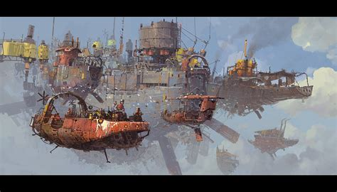 libro the art of ian ian mcque concept designs industria mechanika