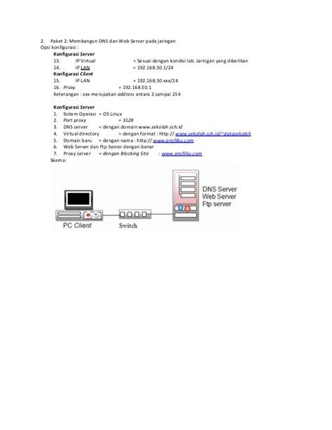 Paket Hicho 1 3 soal ujian praktik kejuruan paket 1 3 doc