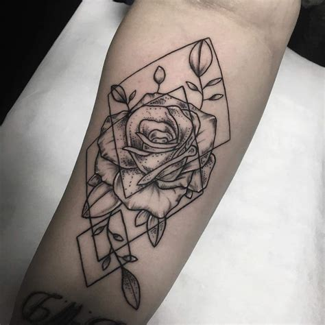 geometric shapes tattoo 40 edgy geometric tattoos to add style to your appearance