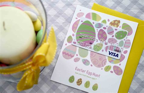 Gift Cards For Girlfriend - free printable gift card holder is an easter egg hunt gcg