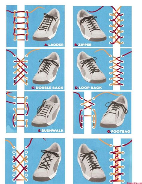 shoe tying 333 how to types of shoelace knot