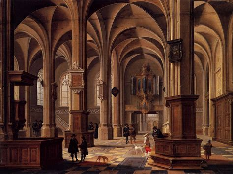 renaissance interior with banqueters 1618 20
