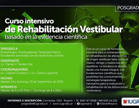 rehabilitacion vestibular cursos intensivos fisioterapia vestibular