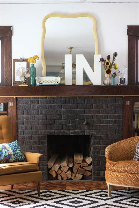 best 25 black fireplace ideas on black brick