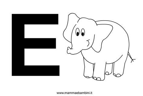 lettere alfabeto con disegni per bambini lettere alfabeto con disegni la e mamma e bambini