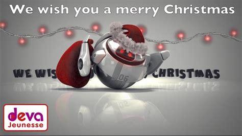 merry christmas paroles anglais francais chanson de noel youtube