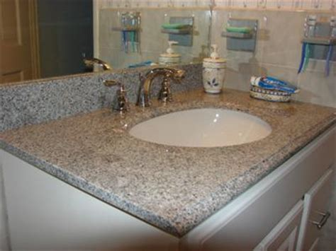 Caring For Marble Countertops In Bathroom by Care And Upkeep Of New Granite Vanity Top