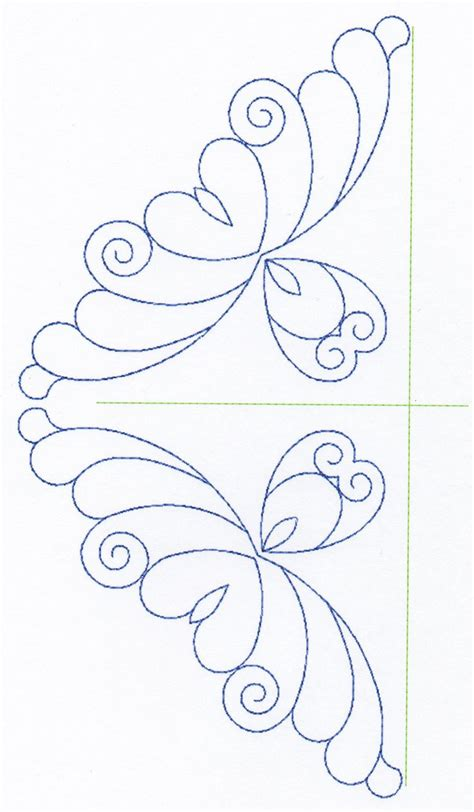 templates for quilting designs free continuous machine quilting designs feather