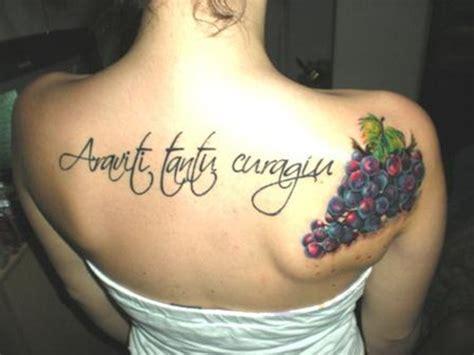 tattoo girl wine 41 exotic grape tattoo ideas to celebrate life and tattoo