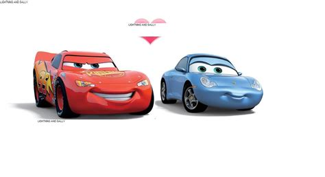 cars sally how come so many anthropomorphic female animal characters