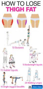 5 exercises to lose thigh health fitness